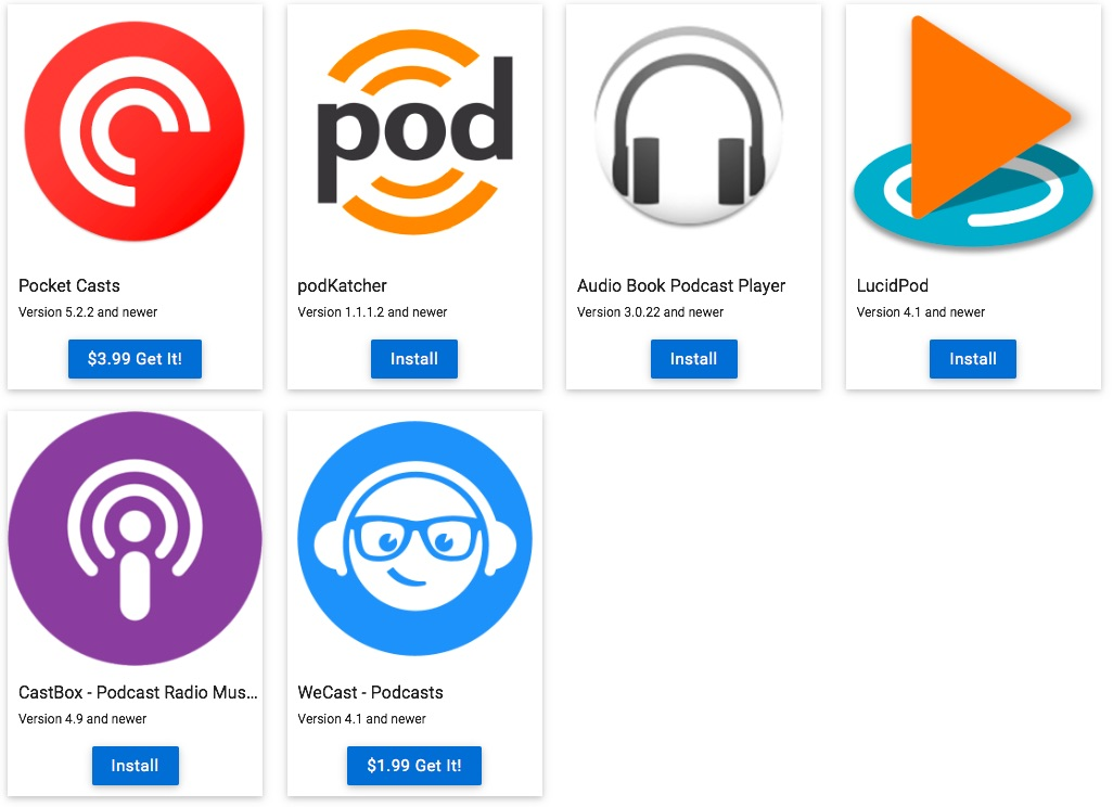 Android Podcast App 2